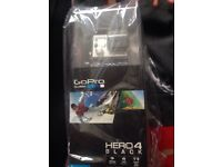 Brand New Sealed Go Pro Hero 4 Black Edition