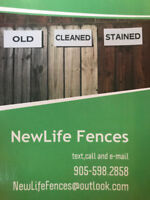 Fence staining and stealing Brampton