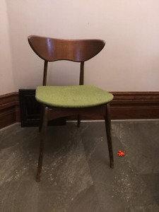 Four mcm chairs