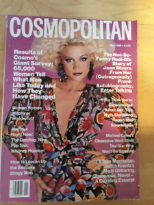 Cosmopolitan magazines for sale