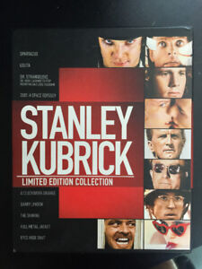 Stanley Kubrick Limited Edition Collection Blu-ray 10 disques