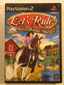 PlayStation2  jeu  Let's Ride !  Silver Buckle Stables