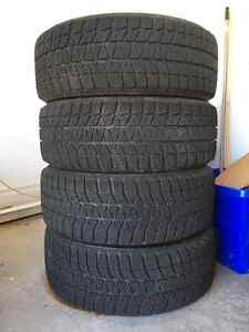 Blizzak WS80 205/55/16 winter tires and steel rims