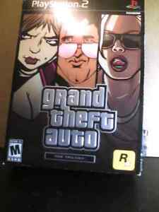 GRAND THEFT AUTO  [11]   -  THE TRILOGY