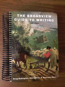 Selling The Broadview Guide To Writing 6th Edition