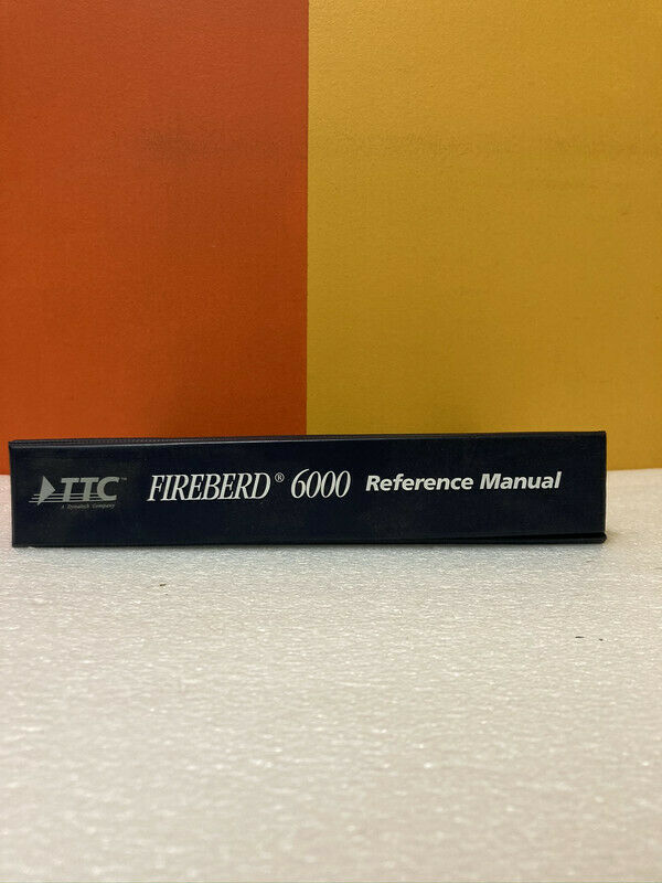 FireBerd 50-12020-01 Software Level L Reference Manual