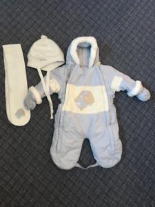 Gusti - Boy's (6-9 Months) One-Piece Snowsuit