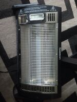Portable ceiling heater