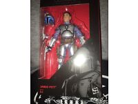 Jango Fett Star Wars Black Series Six Inch Action Figure