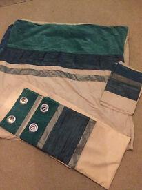 Curtains & king size duvet set