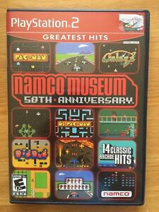 Namco Museum 50th Anniversary PS2 Game