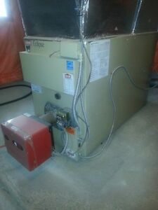 excellent working oil furnace
