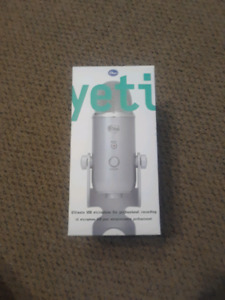 Blue Yeti microphone professional recording