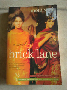 Brick Lane A Novel by Monica Ali Paperback novel