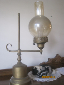 Brass Lamp - Antique