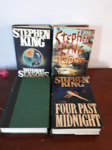 Lot of 4 Stephen king  hardcover book