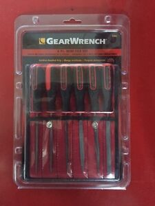 Gearwrench 6pc file set