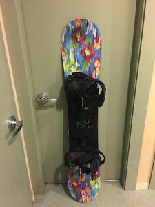 Burton Feelgood Snowboard 149cm + Lexa Est Bindings