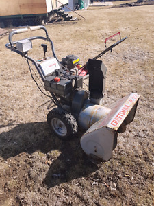 Craftsman Snowblower &Craftsman Lawnmower