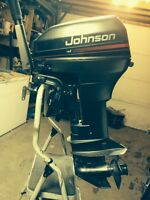 9.9 hp  Evenrude outboard short shaft motor