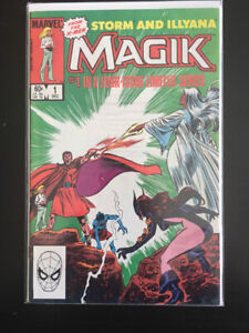 Marvel Comics Magik complete four issue limited series.