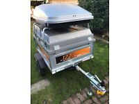 Erde 122 Box Trailer With ABS Hard Lid And TopBox