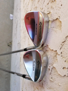 Taylormade milled grind satin wedge set