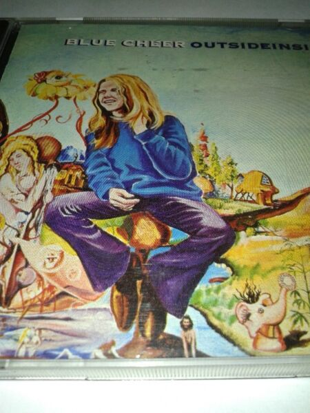 BLUE CHEER - Outside Inside ,68 cd USA