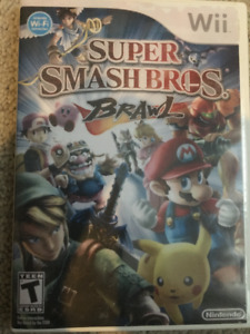Super SmashBros Brawl $30 (firm) - for Wii
