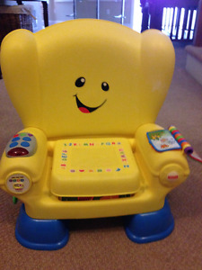 Laugh and Learn Stages Chair Fisher Price