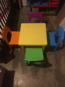 Reduced! Brand new children's table set for sale