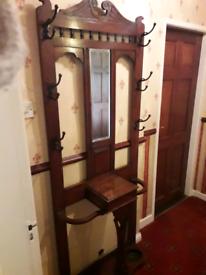 Antique hall/ coat stand