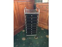 Hairdressing Salon Beauty Therapy 8 Draw Cabinet Trolley