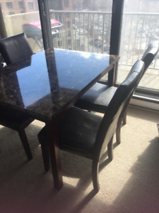 $100 Table & 4 Chairs