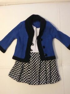 Rebecca's School Outfit for American Girl Dolls