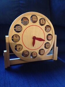 Childs learning clock