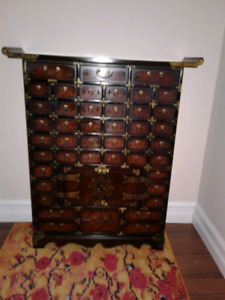 REDUCED PRICE: Asian Herbal Medicine Chest