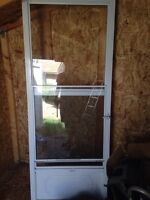 "31 1/4 x 79"" screen door"