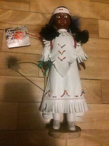 Native indian doll / poupée amerindienne Canada mohawk