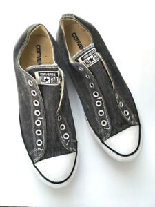 Converse slip low top - Grey - Size 10 - Fits 9