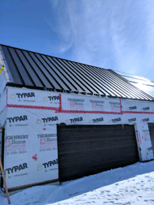 Standing seam metal roofing supply starting at $2.80/sqft