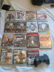 Ps3 games and remote