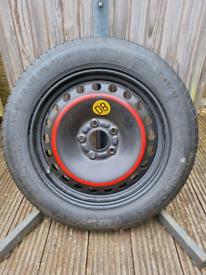 Spare/Temporary Car Tyre
