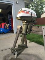 4 hp Johnson outboard $300
