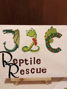 JLC REPTILE RESCUE  A great option for rehoming unwanted reptile