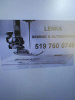 Alteration , sewing, remodeling