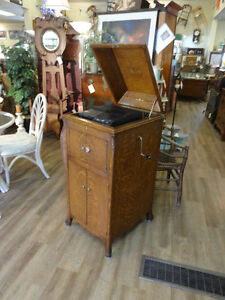 Antique Victrola at The Old Attic