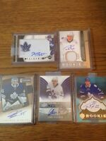 Toronto Maple leafs Autographed, Jersey & Patch Hockey Cards