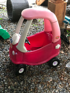kid children play car pink - outdoor use