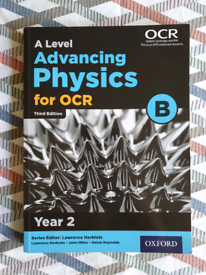 A Level Advancing Physics for OCR B Textbook